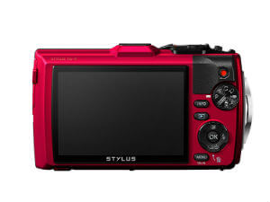 Olympus TG 4 16 MP Waterproof Camera