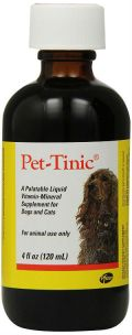Pfizer Animal Pet Tinic Vitamin Mineral Supplement For Dogs And Cats