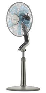 Rowenta VU5551 Turbo Silence Oscillating 16 Inch Stand Fan