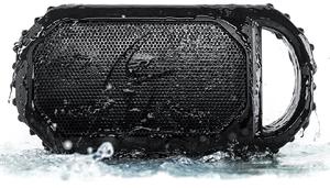 ECOXGEAR Eco Stone Portable Outdoor Bluetooth Speaker Bg