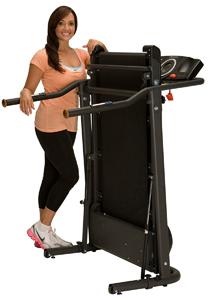 Exerpeutic TF1000 Ultra High Capacity Electric Treadmill Bg