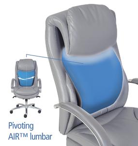Serta 45451 Executive Faux Leather Chair Bgg
