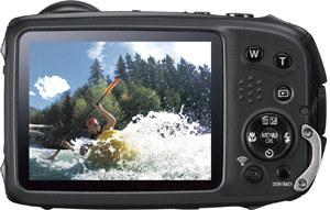 Fujifilm FinePix XP90 Waterproof Digital Camera Bg