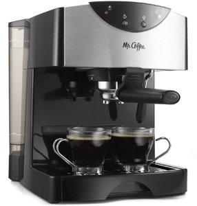Mr Coffee Automatic Dual Shot Espresso Cappuccino System, ECMP50