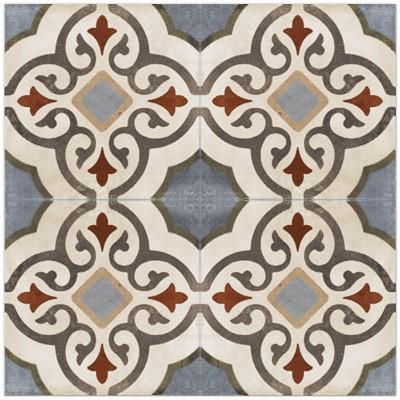 evoque porcelain tile encaustic look