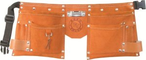 Born Tough Pocket Suede Leather Kids Tool Belt