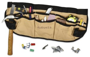 JD Tools Canvas Lightweight Tool Belt