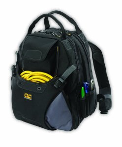 Custom Leathercraft 1134 Tool Backpack, 48-Pocket