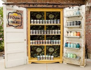 Colors of Chalky Chicks chalk paint