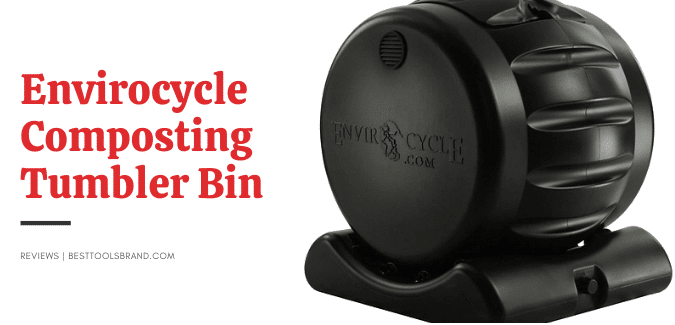 envirocycle composting tumbler bin