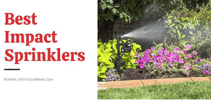 best impact sprinkler