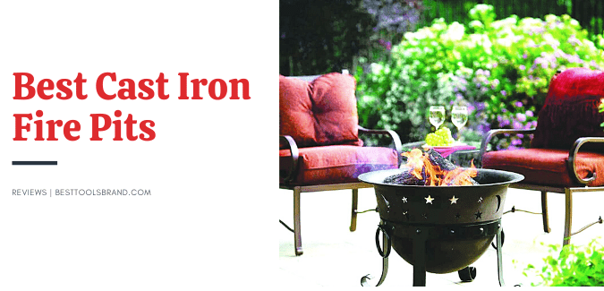 cast iron fire pits