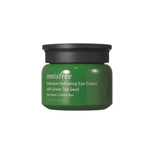 Intensive hydrating eye cream with green tea seed