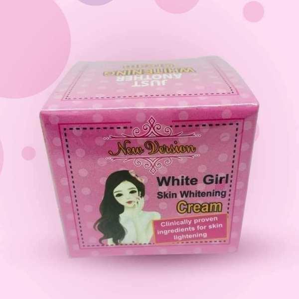 White girl skin whitening cream