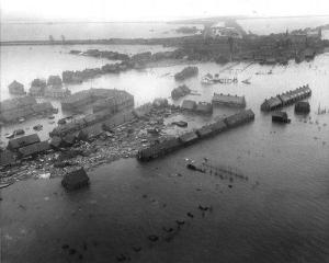 St. Lucia's flood, storm surge - Netherlands (1287)