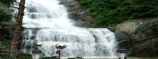 silver falls tourist places in kodaikanal