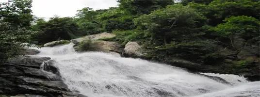 monkey falls valparai tourist places
