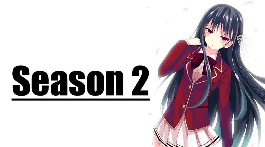 Youkoso Jitsuryoku Classroom Of The Elite Season 2 - Anime ...