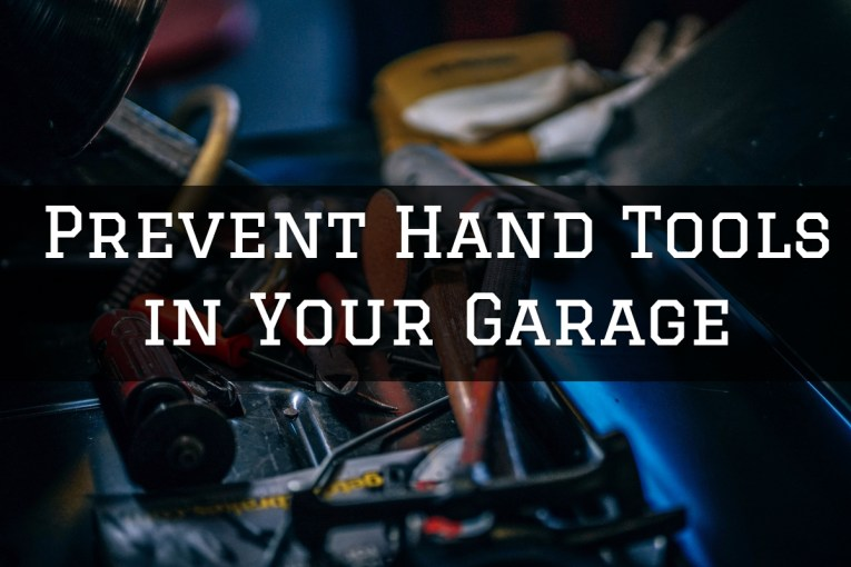 prevent hand tools in your garage
