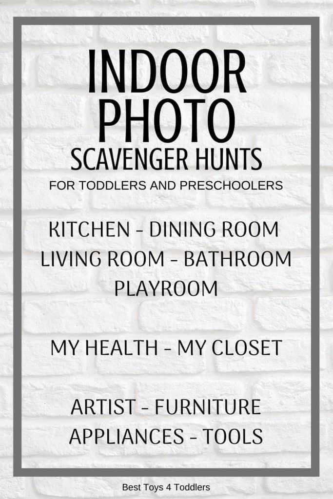 52 Photo Scavenger Hunts for Toddlers and Preschoolers