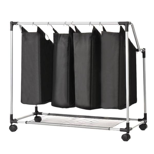 Hotel Heavy Duty Laundry Sorter Hamper Oxford Fabric