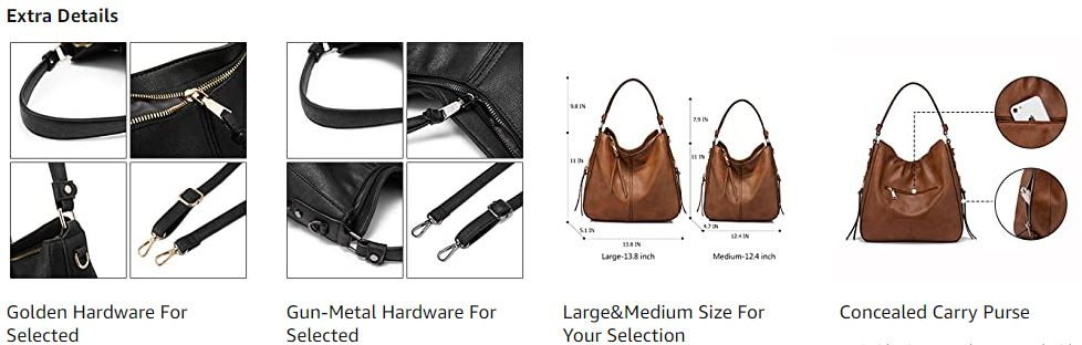 Realer Hobo Bags for Women 3
