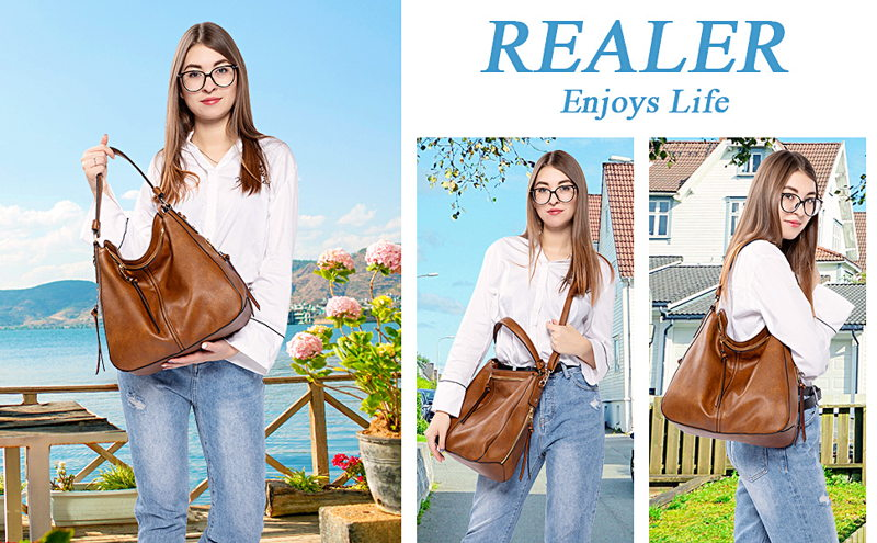 Realer Hobo Bags for Women