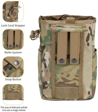 EXCELLENT ELITE SPANKER Molle Dump Pouch Bag 2
