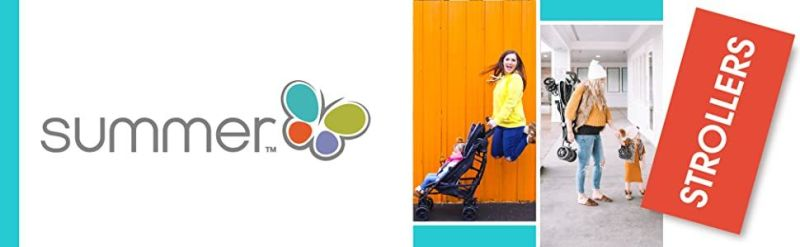 Summer 3Dflip Convenience Stroller Best Lightweight Baby Stroller