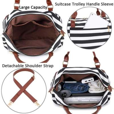 meisohua canvas travel bag features