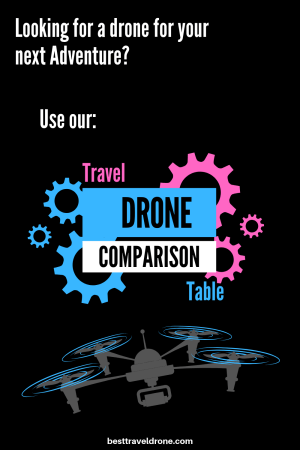 Travel Drone Table - Compare and find the best travel drones