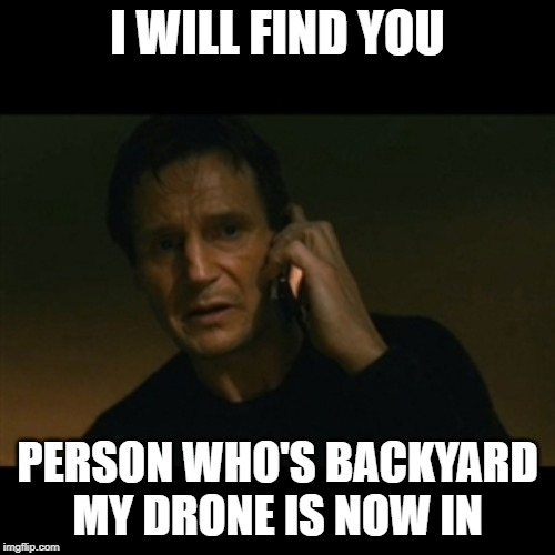 Lost my drone meme