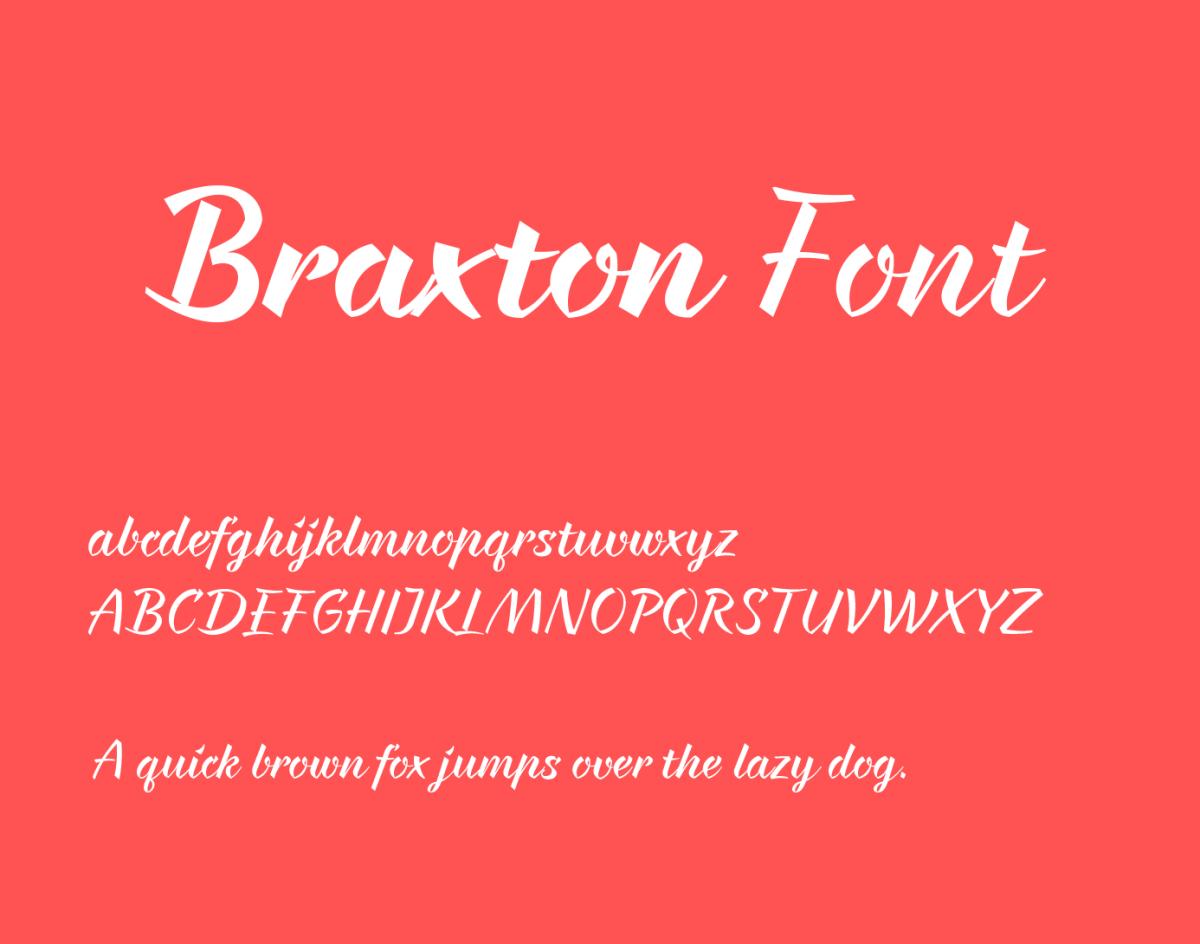 Braxton-Font