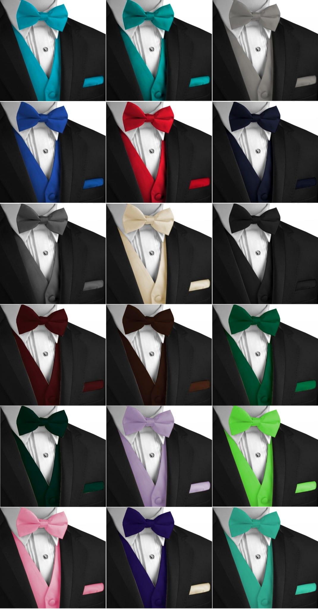 f0755d3d586 Best Tuxedo Vest, Bow-Tie & Hankie Set - Best Tuxedo