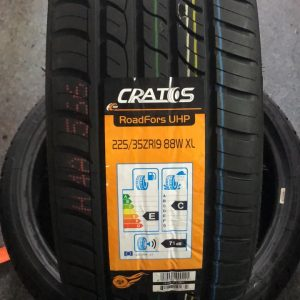 225-35-R19 88W XL Cratos