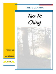 To Te Ching book Cover