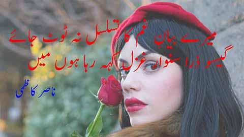aye dard hijre yar ghazal keh raha hoon main