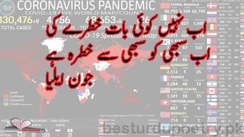 ab nahi koi baat khtray ki - jaun elia poetry in urdu - coronavirus in urdu - besturdupoetry.pk