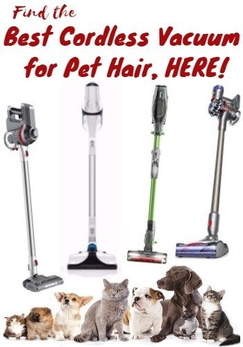 Best CORDLESS Vacuum for Pet Hair  2018 Recommendations