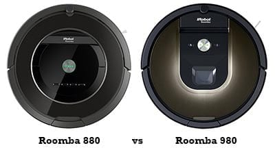 Roomba 880 Vs 980 Comparison And Review Best Vacuum Review