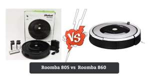 Roomba 805 vs 860