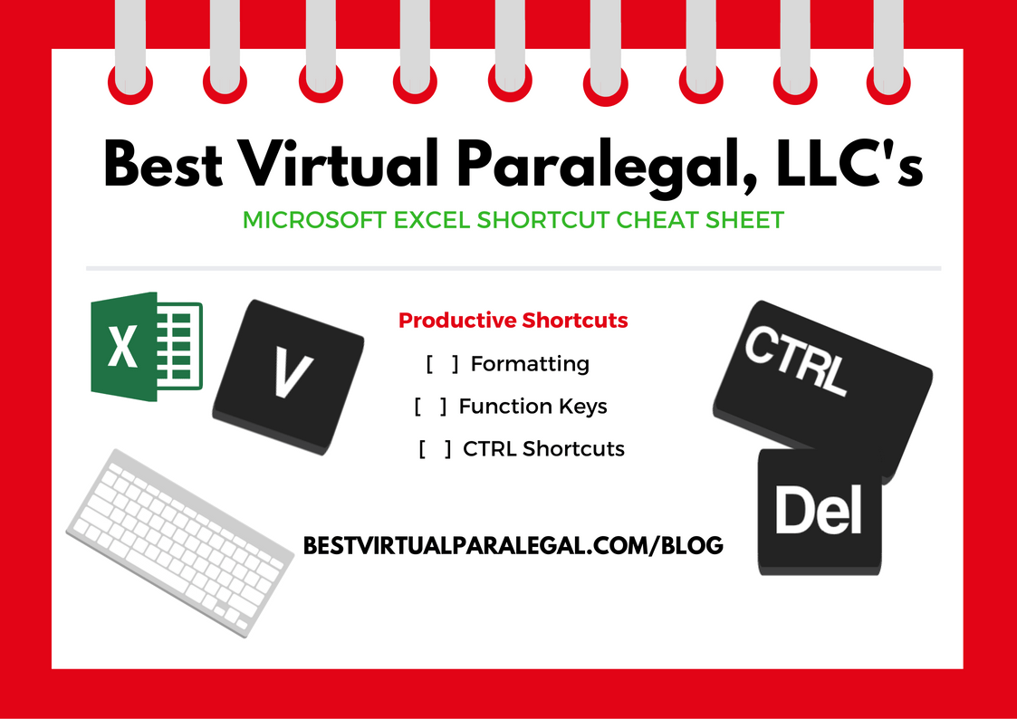 Excel Shortcuts To Help Your Practice