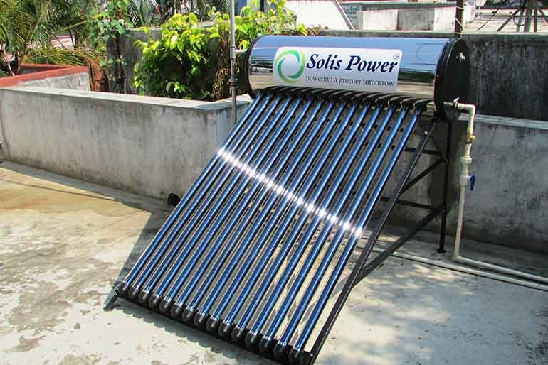 Solar Heaters Water Homes