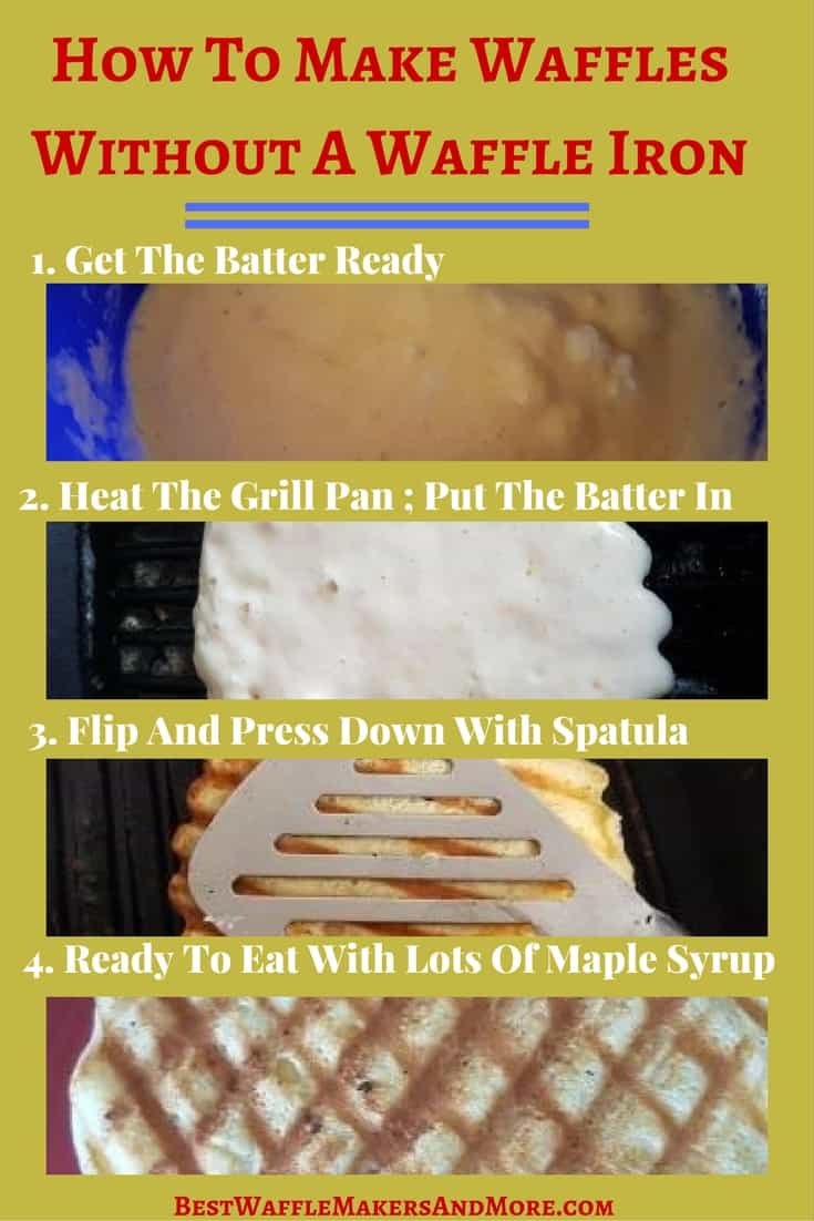 How To Make Waffles Without A Waffle Maker In 4 Easy Steps