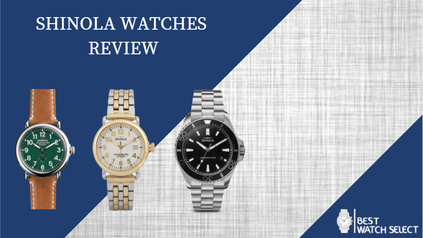 shinola watch review