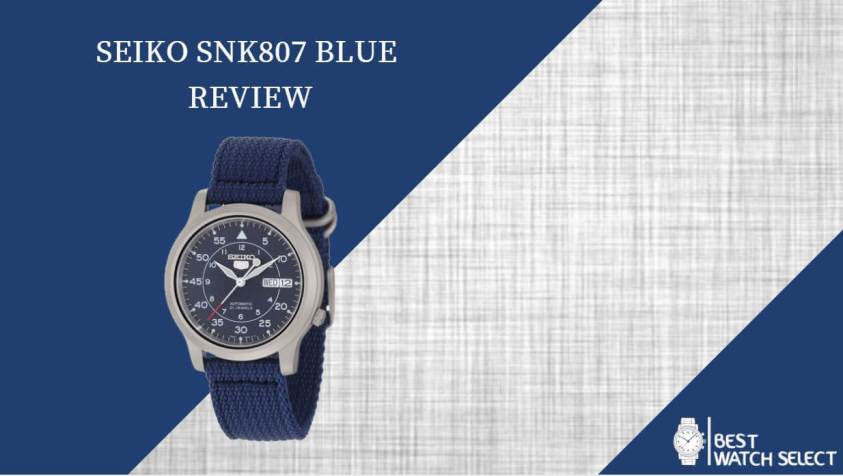 Seiko SNK807 Automatic Blue