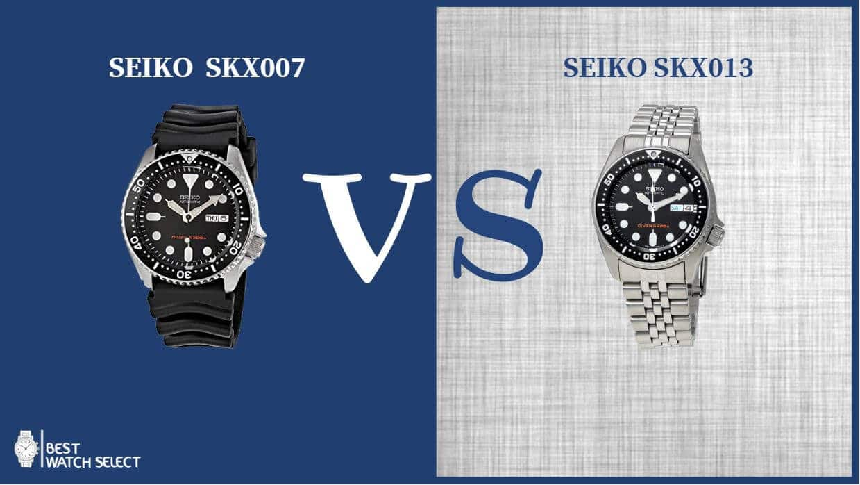 Seiko SKX007 VS SKX013 Automatic