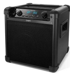 ion audio ipa77 bluetooth tailgate speaker [ 1200 x 750 Pixel ]