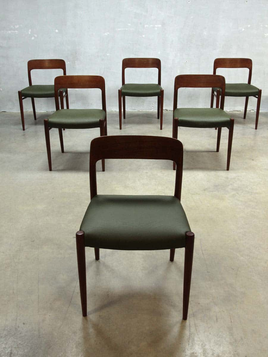 Moller Danish dining chairs dinner chair Moller
