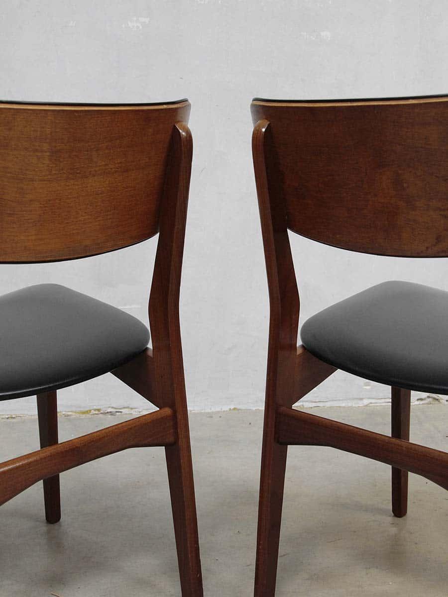 Vintage design Danish dinner chairs vintage deense